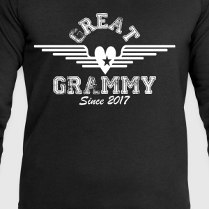 Great Grammy Since 2017 T-Shirts - Men's Sweatshirt by Stanley & Stella