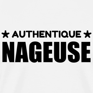 Natation / Nageur / Nageuse / Nager Tabliers - T-shirt Premium Homme