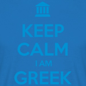 KEEP CALM I AM GREEK - Männer T-Shirt