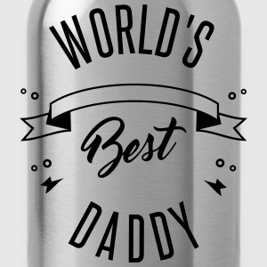 WORLD'S BEST DADDY - Trinkflasche