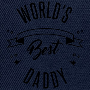 WORLD'S BEST DADDY - Snapback Cap