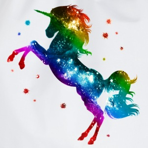 Unicorn rainbow, galaxy, space, gay, fantasy T-shirts - Sportstaske