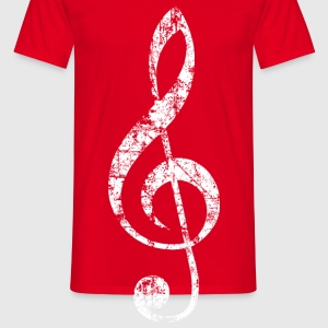 Violin key, musical key Mugs & Drinkware - Men's T-Shirt