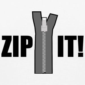 Zip it! - Men's Premium T-Shirt