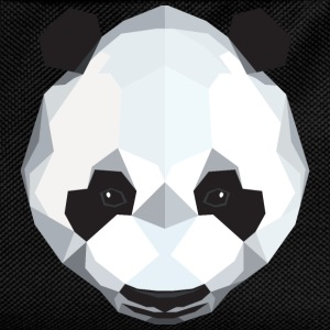 Cute Panda Illustration (Low Poly) T-Shirts - Kinder Rucksack