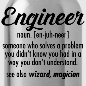 Geek | Engineer - Definition T-shirts - Drinkfles