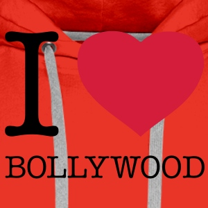 I LOVE BOLLYWOOD - Premiumluvtröja herr