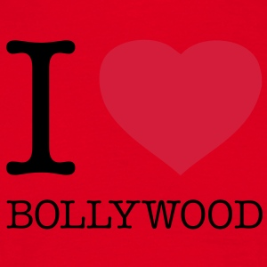 I LOVE BOLLYWOOD - Mannen T-shirt
