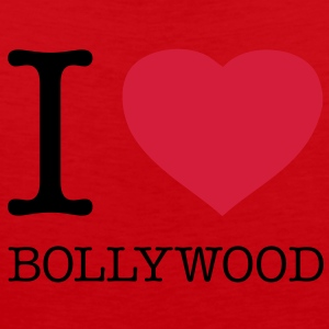 I LOVE BOLLYWOOD - Herre Premium tanktop
