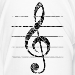 Violin key, musical key Mugs & Drinkware - Men's Premium T-Shirt