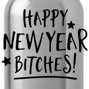 Happy New Year Bitches Bags & Backpacks - Water Bottle