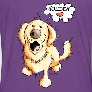 Golden Retriever on Tour Hoodies & Sweatshirts - Men's Premium T-Shirt