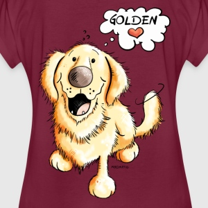 Golden Retriever Sweat-shirts - T-shirt oversize Femme