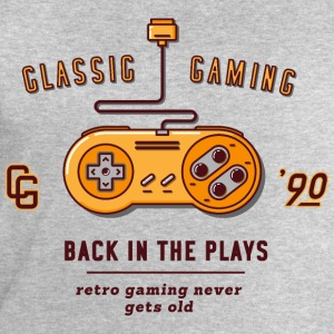 Gris chiné classic gaming Tee shirts - Sweat-shirt Homme Stanley & Stella