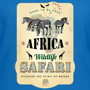 Zebras Africa Wildlife Safari Afrika Adventure - Frauen T-Shirt
