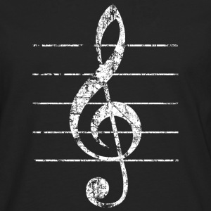 Treble Clef, Clef Tee shirts - T-shirt manches longues Premium Homme