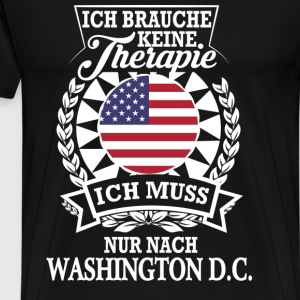 Therapie Washington D.C. Langarmshirts - Männer Premium T-Shirt