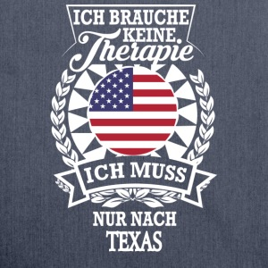 Therapie Texas T-Shirts - Schultertasche aus Recycling-Material