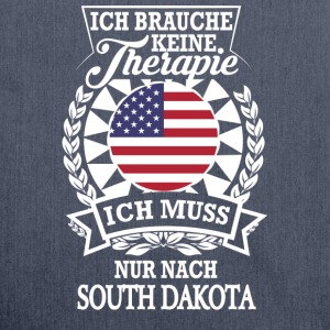 Therapie South Dakota T-Shirts - Schultertasche aus Recycling-Material