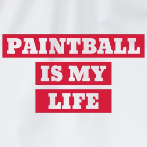 Paintball Airsoft Sport Sportler Spieler T-Shirts - Turnbeutel