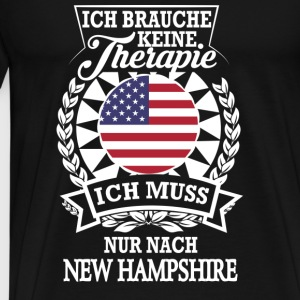 Therapie New Hampshire Langarmshirts - Männer Premium T-Shirt