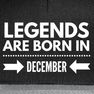 Legends December T-Shirts - Snapback Cap