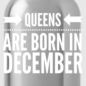 Queens December T-Shirts - Water Bottle