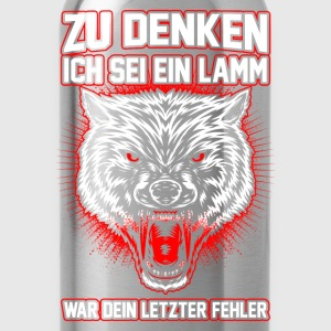 Wolf - fout Shirts - Drinkfles