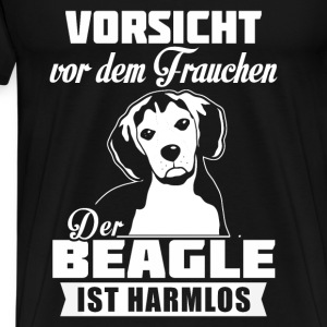 Beagle - attention Sweat-shirts - T-shirt Premium Homme