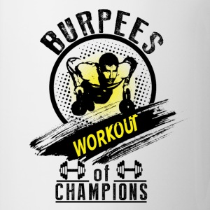 Burpees Workout  T-Shirts - Tasse