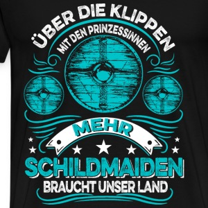 More Shieldmaidens Tops - Men's Premium T-Shirt