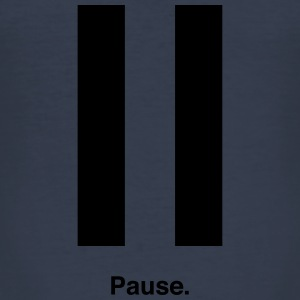 Pause Sweatshirts - Herre Slim Fit T-Shirt