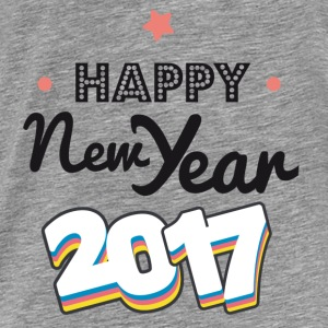 happy new year  2017 coul Sweatshirts - Herre premium T-shirt