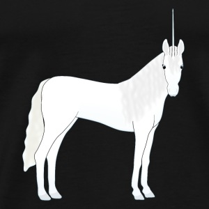 Unicorn head front Hoodies & Sweatshirts - Men's Premium T-Shirt