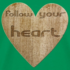 Love - follow your heart Sacs et sacs à dos - T-shirt Premium Homme