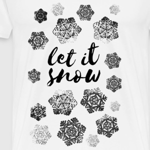 AD Let It Snow Pullover & Hoodies - Männer Premium T-Shirt