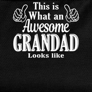This is what an awesome Grandad looks like  - Kids' Backpack