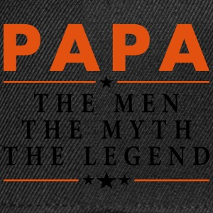 PAPA THE LEGEND Hoodies & Sweatshirts - Snapback Cap