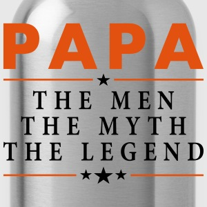 PAPA THE LEGEND T-Shirts - Water Bottle