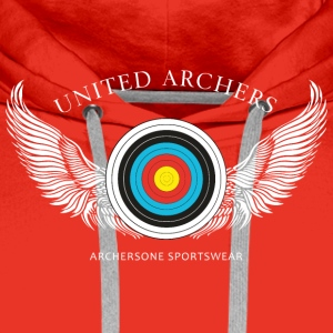 United Archers Bogensport T-Shirts - Männer Premium Hoodie