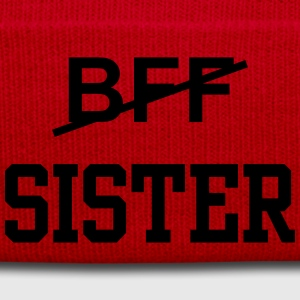 BFF sister T-Shirts - Winter Hat