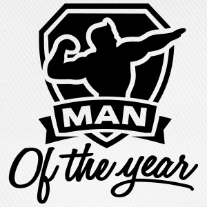 Man of the year 1 clr T-shirts - Basebollkeps