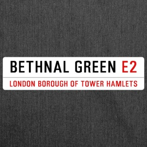 Bethnal Green Street Sign - Shoulder Bag made from recycled material