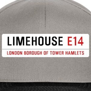 Limehouse Street Sign - Snapback Cap