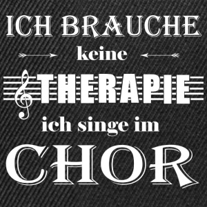 Therapie Chor T-Shirts - Snapback Cap