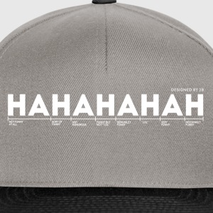 who_cares_2_Blue_F - Snapback Cap