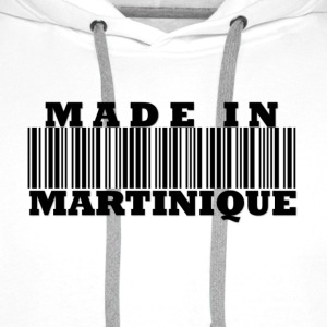 Made in Martinique  Tee shirts - Sweat-shirt à capuche Premium pour hommes
