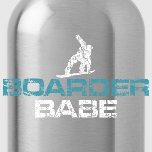 Boarder Babe Vintage White/Blue T-Shirts - Trinkflasche