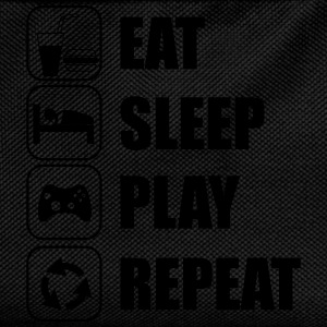 Eat,sleep,play,repeat Gamer Gaming Nerd geek - Zaino per bambini
