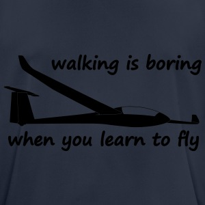 when you learn to fly Sweaters - mannen T-shirt ademend